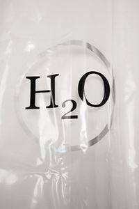 KARE Duschvorhang H2O 200 x 180 cm