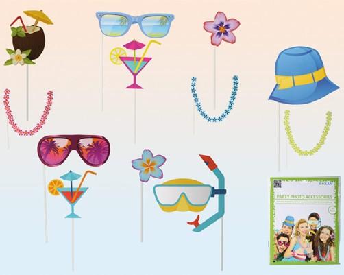 Foto Beach Party Accessoires Verkleidung für Partys