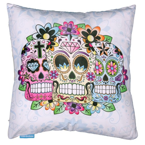 Skull Kissen Day of the Dead 40x40 cm