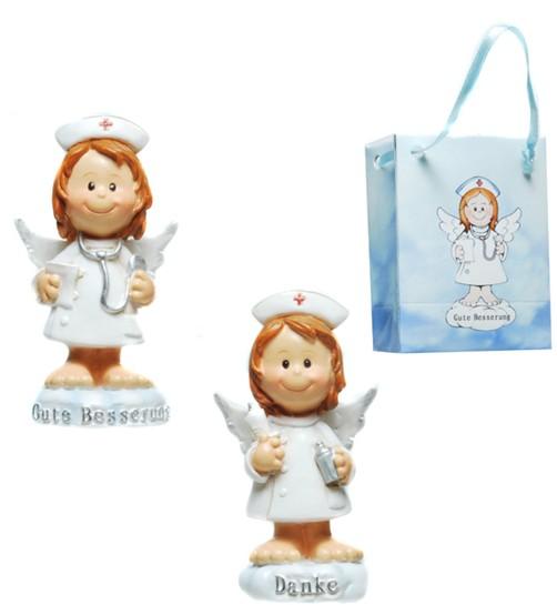 Schutzengel Krankenschwester in Tüte