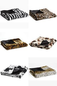 Kuscheldecke Animal Print, 145 x 180 cm | Panther