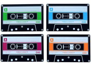 Invotis Untersetzer 4er Set Cassette