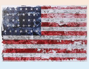 Bild Stars and Stripes USA Flagge 40x60 cm