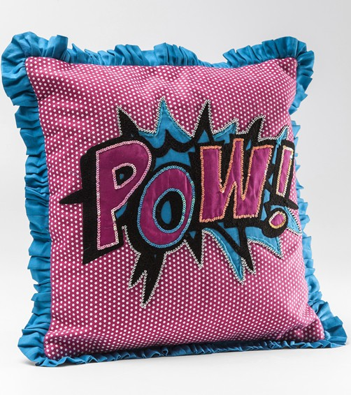 Kissen Cartoon Pow 35 x 35 cm