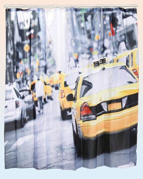 Duschvorhang New York Yellow Cab