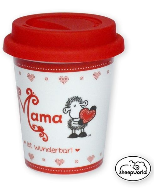 Kaffeebecher to go Mama Sheepworld