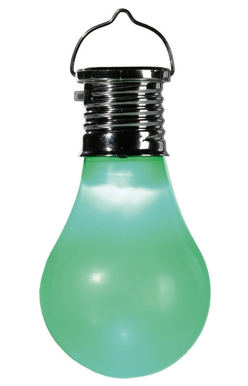 led solar kunststoff gl hbirne solarzelle gartenbeleuchtung garten lampe licht ebay. Black Bedroom Furniture Sets. Home Design Ideas