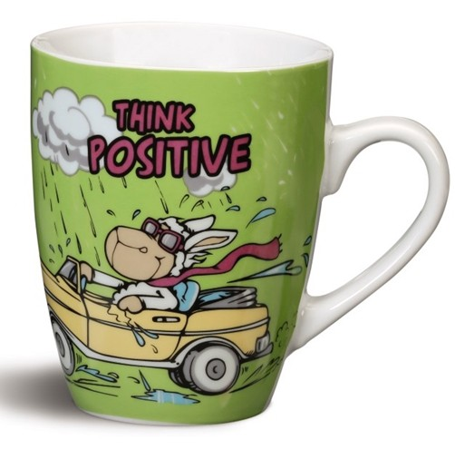 Nici Tasse Think Positive!