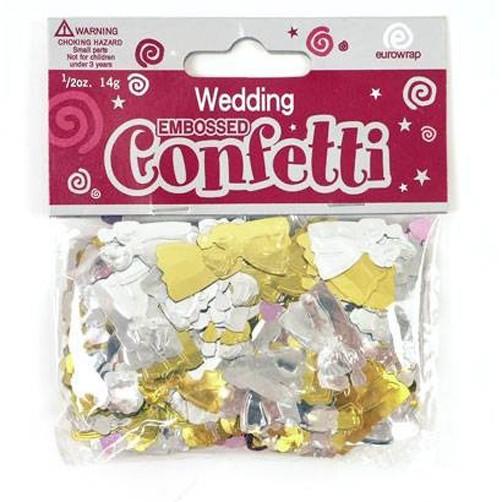 Konfetti Brautpaar
