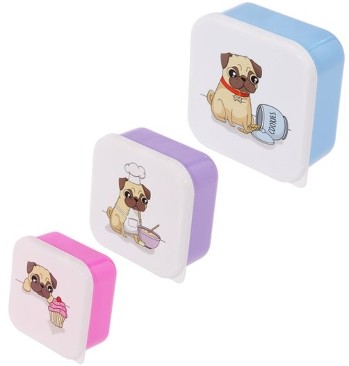 3er Set Lunchbox Mops