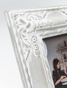 Bilderrahmen Royal Family grau/creme 10 x 15 cm