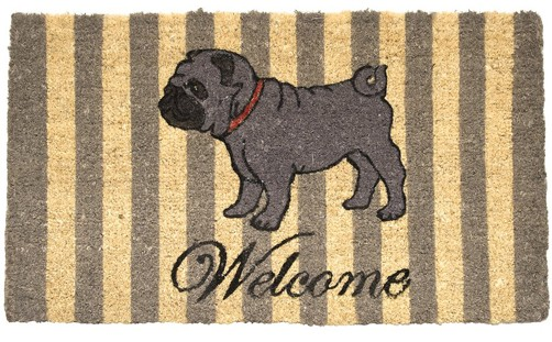 Fußmatte Welcome Mops