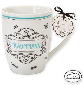 Sheepworld Tasse Traummann 300 ml