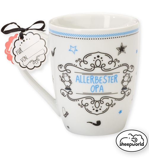 Sheepworld Tasse Allerbester Opa 300 ml