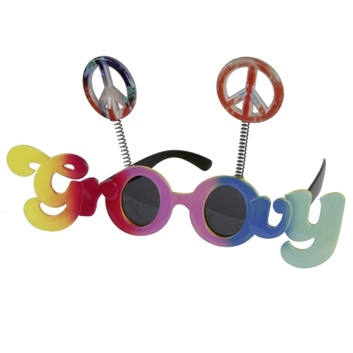 Party Brille Groovy