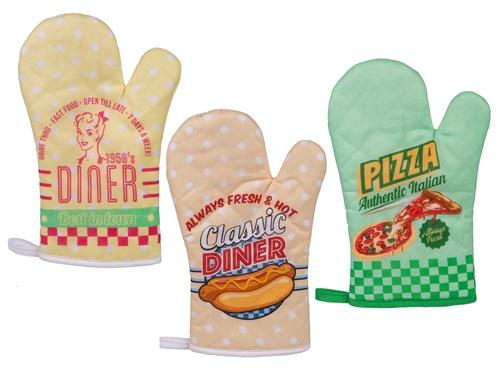 Ofenhandschuh Diner 3 Modelle zur Auswahl