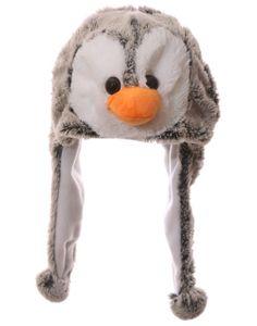 Wild Woolies Plüsch Pinguin Mütze