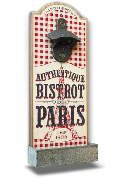 Wandflaschenöffner Bistrot de Paris