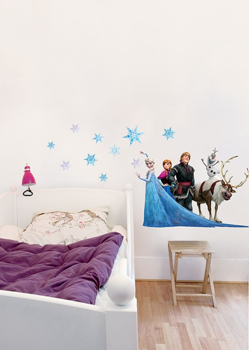 kinder wandtattoo disney frozen friends. Black Bedroom Furniture Sets. Home Design Ideas