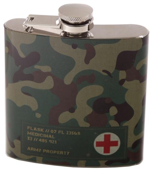 Flachmann Camouflage 160 ml