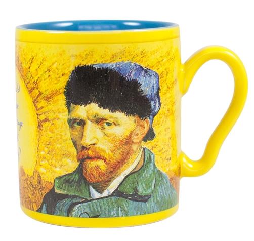 Kaffeetasse mit Thermoeffekt Van Gogh - verschwindendes Ohr