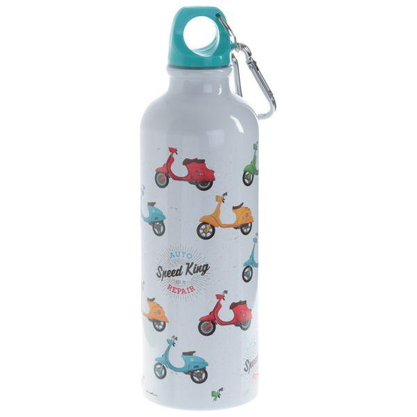 Aluminium Trinkflasche Roller 500 ml mit Anhänger