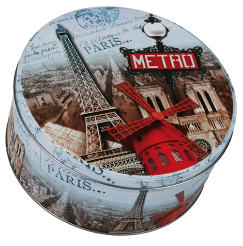 Metall Dose  Paris