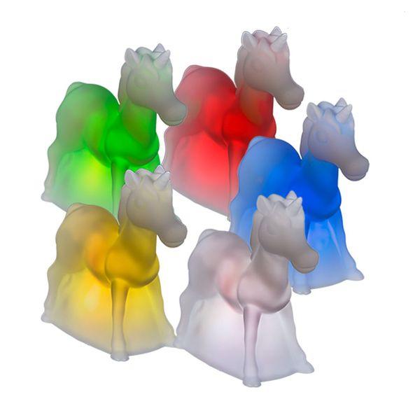 LED Nachtlicht Einhorn stehend mit Farbwechsel