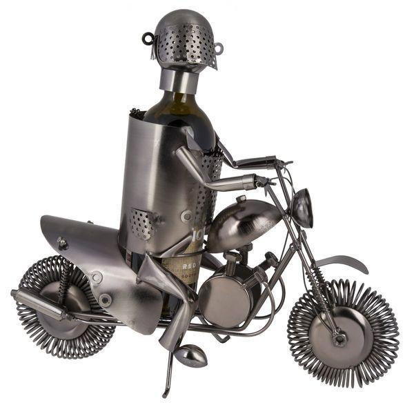 Metall Flaschenhalter Motorradfahrer