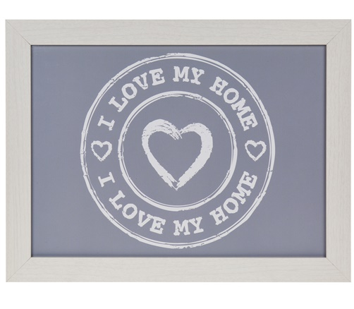 Kissen - Tablett 'I love my home'