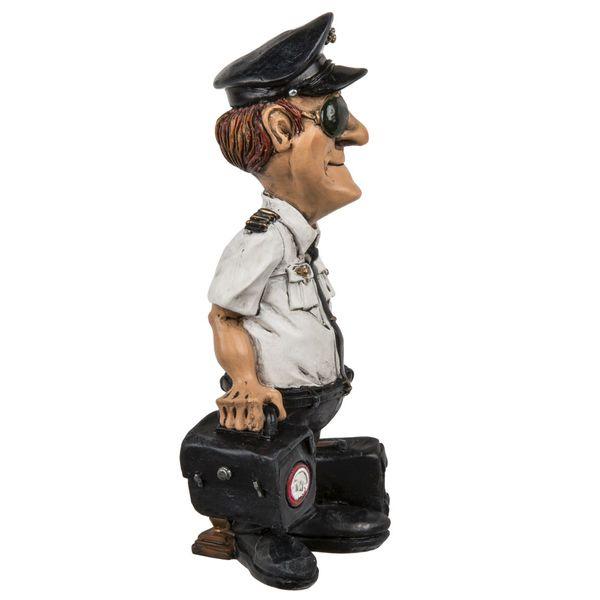 Polyresin Figur Pilot 16 cm