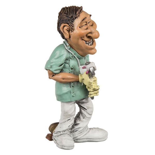Polyresin Figur Zahnarzt 15 cm