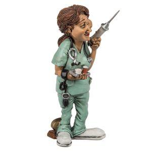 Polyresin Figur Krankenschwester 15 cm