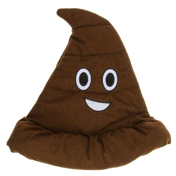 Plüsch Hut Emoji Poop