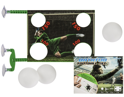 Badewannen - Fußball-Set