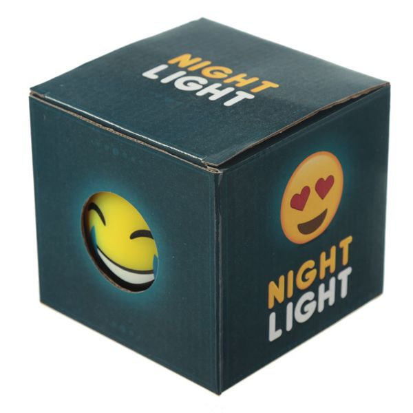 Emoticon lachende Lampe LED