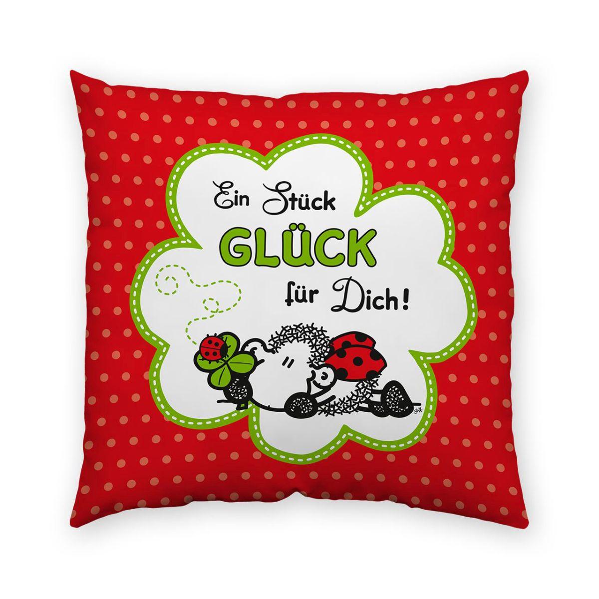 sheepworld kissen gl ck dekokissen sofakissen zierkissen valentinstag 40 x 40 ebay. Black Bedroom Furniture Sets. Home Design Ideas