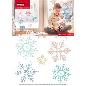 Xmas Fenstersticker Schneeflocken