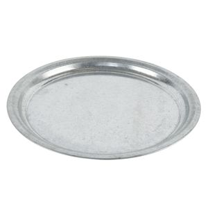 Untersetzer Teller für Pflanzentopf Zink 43,5 cm
