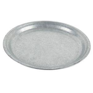 Untersetzer Teller für Pflanzentopf Zink 29 cm