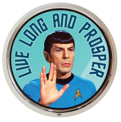 Pillendose Star Trek Spock