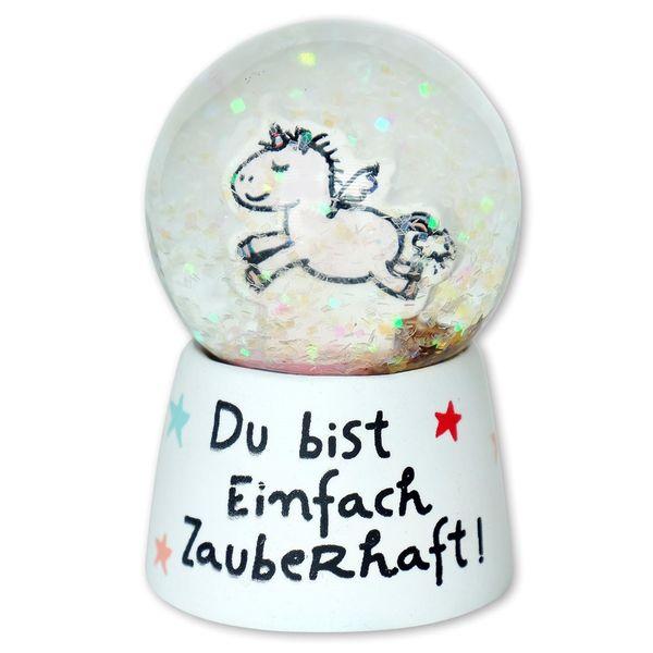 h:)ppy life Traumkugel Einhorn ' Zauberhaft '