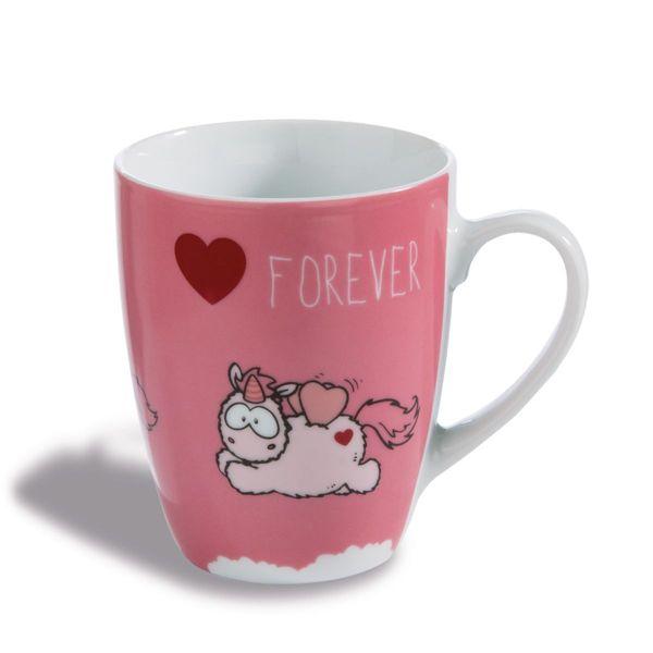"Nici Tasse Einhorn Merry Heart  ""Forever"""