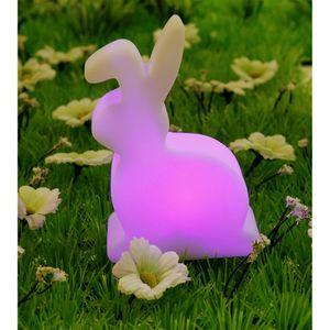 LED Lichtdeko Hase, 10,5 cm