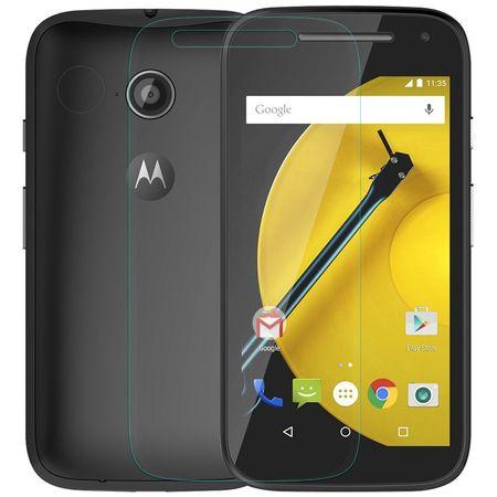 Motorola Moto E2 Displayschutzfolie 9H Verbundglas Panzer Schutz Glas Tempered Glas