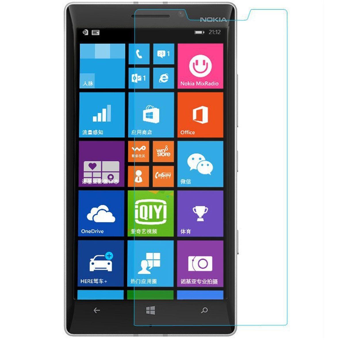 Nokia Lumia 930 Displayschutzfolie 9H Verbundglas Panzer Schutz Glas Tempered Glas