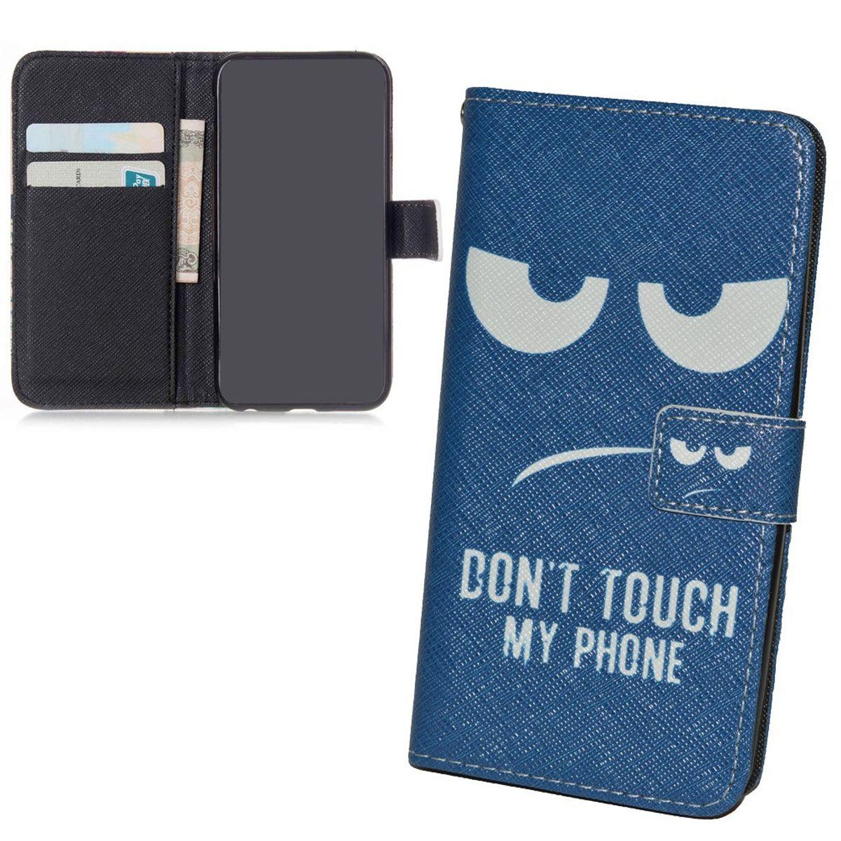 Handyhülle Tasche für Handy Apple iPhone 6s  Dont Touch my Phone