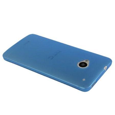 Schutzhülle Case Ultra Dünn 0,3mm für Handy HTC One M7 Blau Transparent – Bild 3