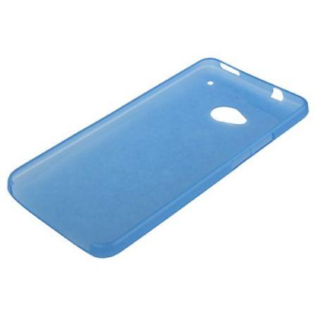 Schutzhülle Case Ultra Dünn 0,3mm für Handy HTC One M7 Blau Transparent – Bild 4
