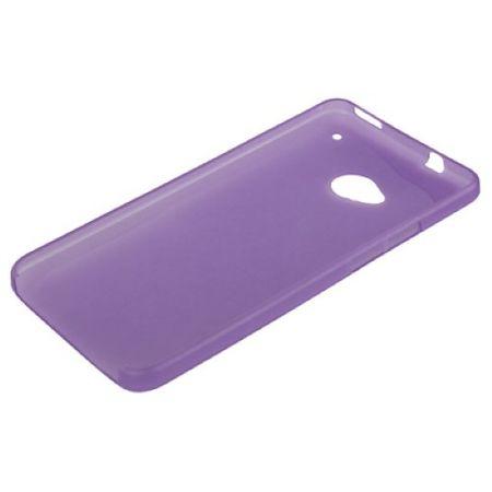 Schutzhülle Case Ultra Dünn 0,3mm für Handy HTC One M7 Lila / Violett Transparent – Bild 4
